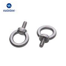 [M3-M24] Eye Bolt 304 Rvs Marine Lifting Eye Schroeven Ring Loop Gat Voor Kabel Touw Eye Bolt DIN580