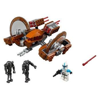 10370 Hailfire-class Droid Tank Wars Model Building Blocks Compatible 75085 Toys For Children Figures