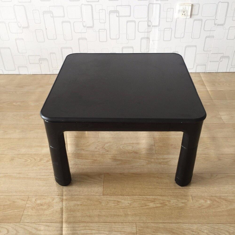 طاولة كوتاتسو اليابانية الصغيرة القابلة للعكس ، 60 سنتيمتر ، أبيض وأسود ، أثاث غرفة المعيشة ، تدفئة القدم ، منخفض ، مصمم