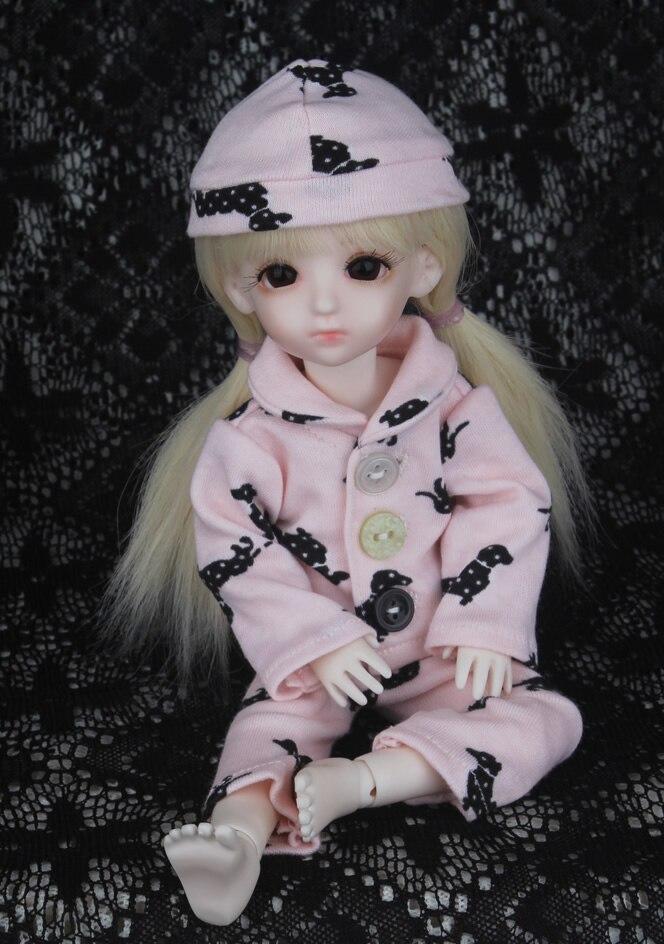 1/3 1/4 1/6 1/8 Одежда для кукол Bjd, одежда для сна, милый комплект, размеры могут быть выполнены по индивидуальному заказу