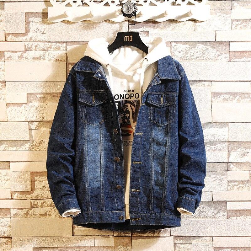 Chaqueta delgada arrancó hombre chaqueta vaquera Cowboy moda Jeans de moda Primavera otoño chaquetas de hombre, dropshipping. Exclusivo. Gran oferta de la capa superior