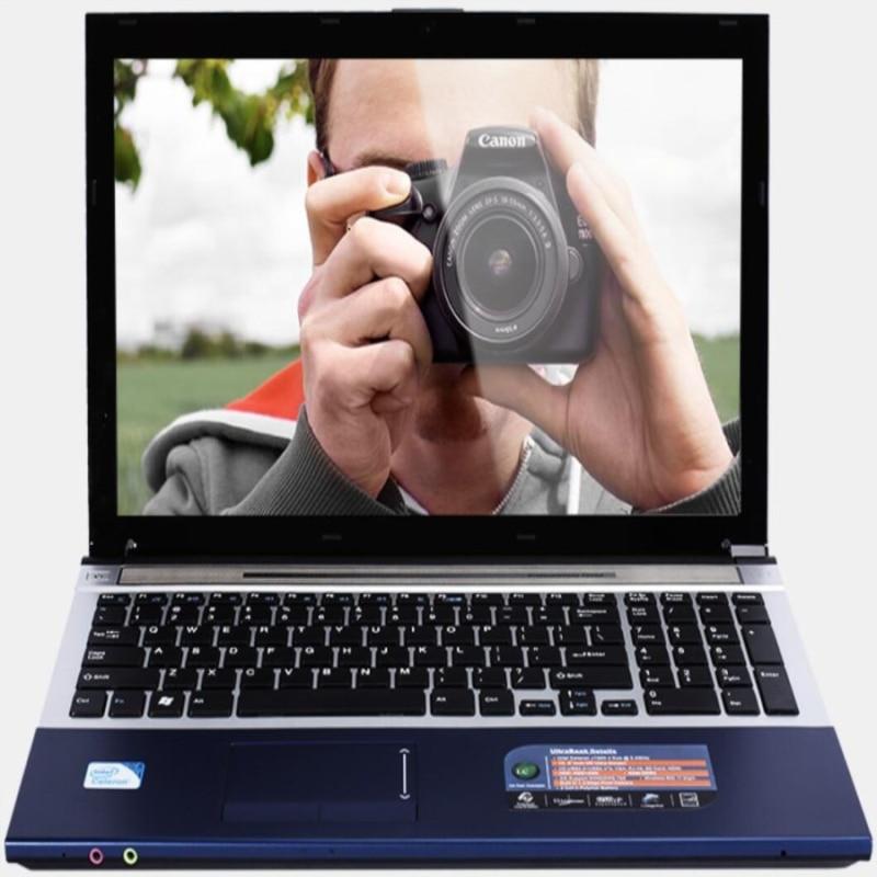 Get 4GB RAM 500GB HDD 15.6″Intel Core i7 Laptop Notebook PC Large Notebook PC DVD Metal Case AZERTY Italian Spanish Russian Keyboard