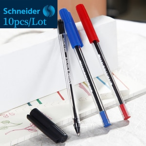 10pcs/Lot Germany Schneider Tops 505M Ballpoint Pens 0.7mm Smooth Ink Ball-point Pen Office School Stationery Can Writing 4000M