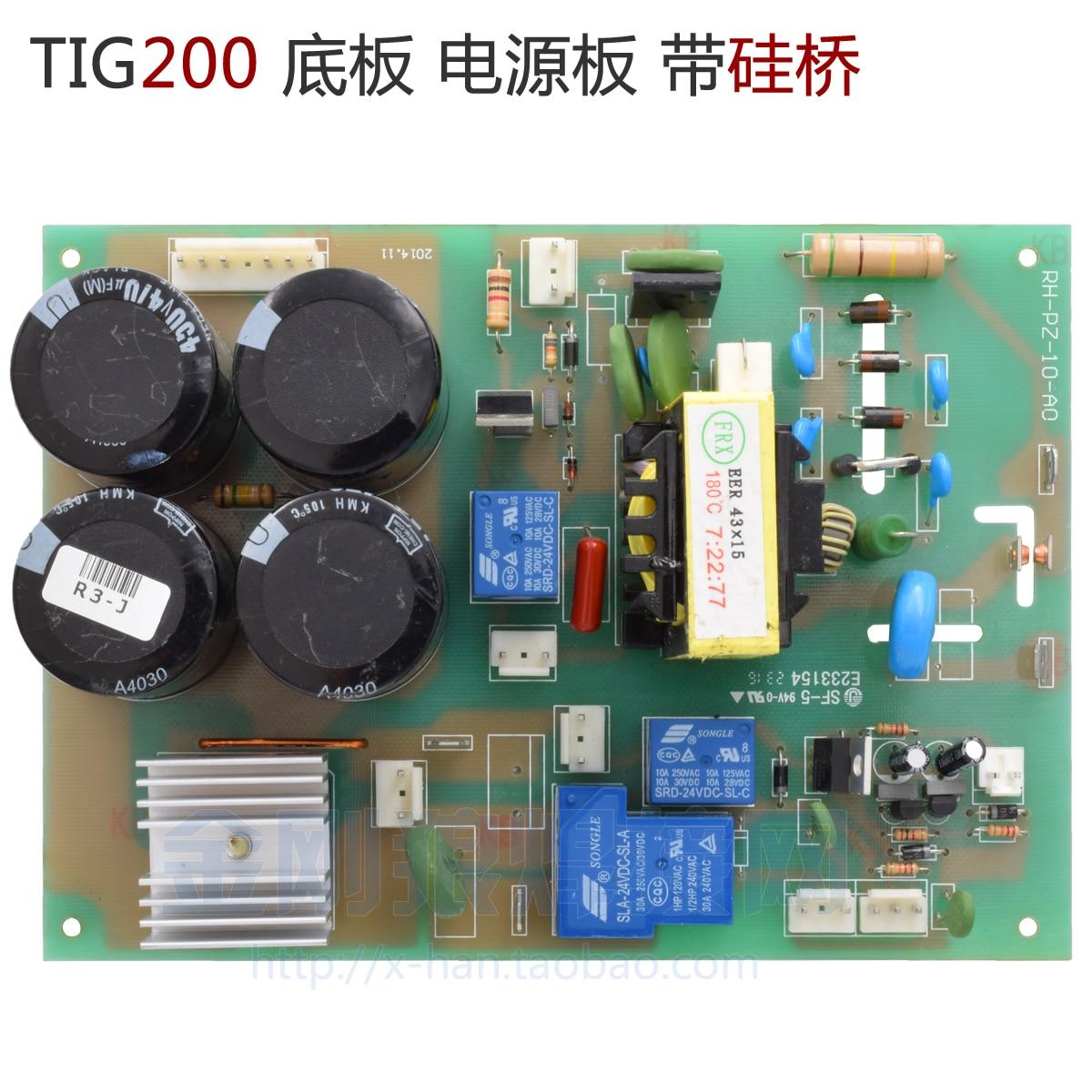 Placa de Base da Máquina de Solda Inversor da Placa de Alimentação da Placa de Alta Frequência do Arco da Ignição da Ignição do 7200