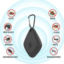 USB Ultrasonik Anti Sivrisinek Katili Kovucu Açık Böcek Kovucu Ultrasonik Elektronik Roach Kontrolü Haşere XNC