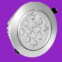 LED Downlight Dimmable 7W 10W 12W 15W 20W 30W LED panneau de lumière COB AC85-265V encastré Downlight couvercle en verre LED ampoule Spot
