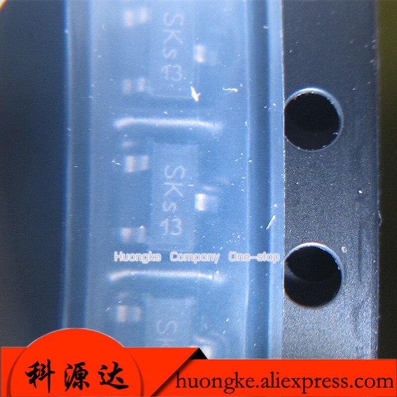 50 PÇS/LOTE BSS138N L6327 BSS138N tela de seda SKS SOT23-3 chip de proteção de energia
