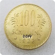 COPY REPLICA 1933,1934 Austria 100 Schilling COPY COIN