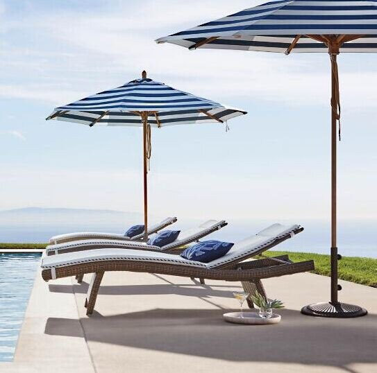 Sigma muebles de mimbre sintético sala de piscina silla playa tumbona