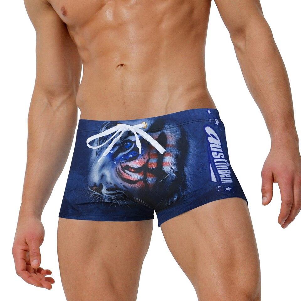Austinbem Swimwear Men Swimming Trunks Mens Bathing Shorts Gay Swimsuit Arena Swimwear Men Briefs Zwembroek Heren Sunga 229