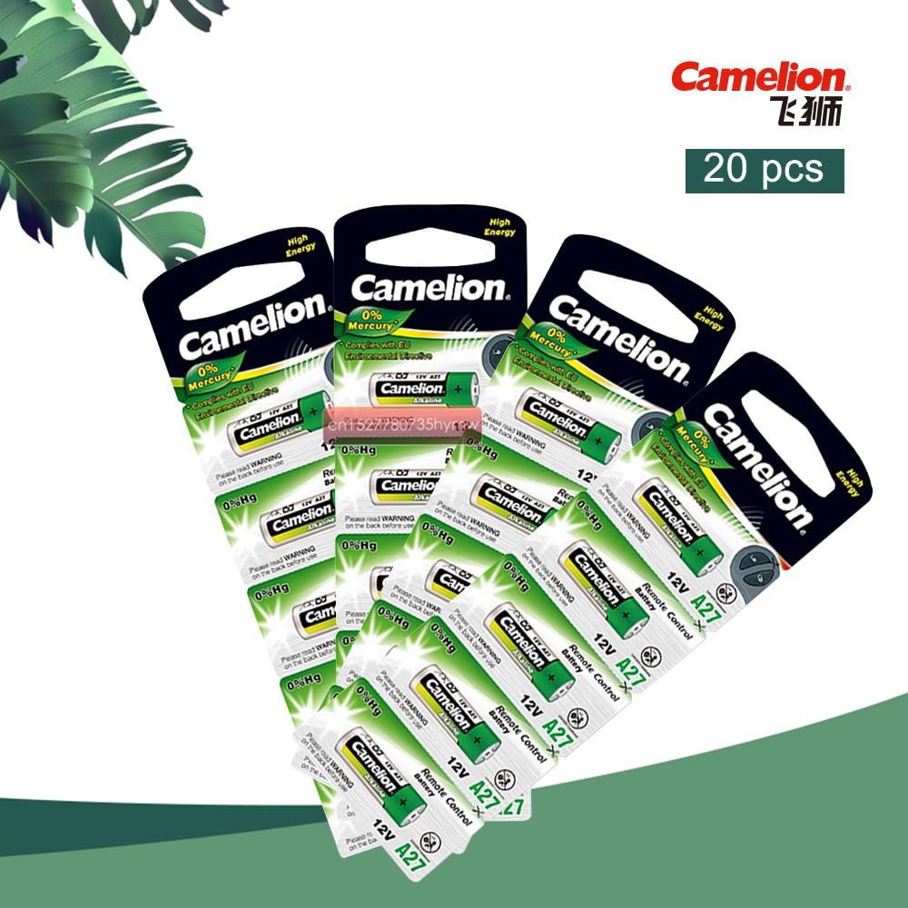 20 teile/los Camelion 12V 27A MN27 27A L828 A27 Super Alkaline batterie Für Türklingel Fernbedienung Taschenlampe Etc