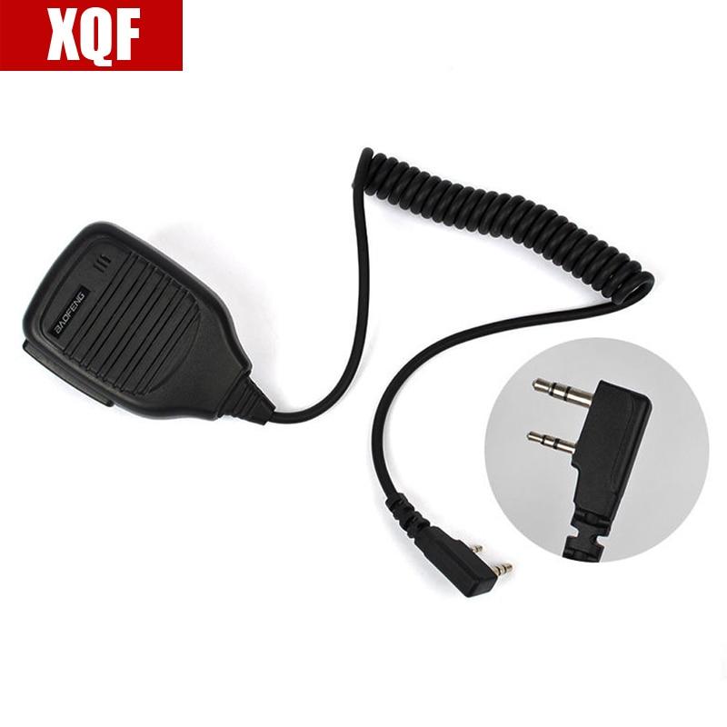 XQF BAOFENG динамик микрофон для Ham двухстороннее радио Walkie / Talkie UV5R GT3 888s