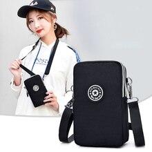 Dla AllCall S10 torba na telefon wiszące szyi z torebka dla ZTE Blade V10 Vita Axon 10 Pro A622 A3 A5 a7 2019 Nubia Z20 L8 L130 Mini