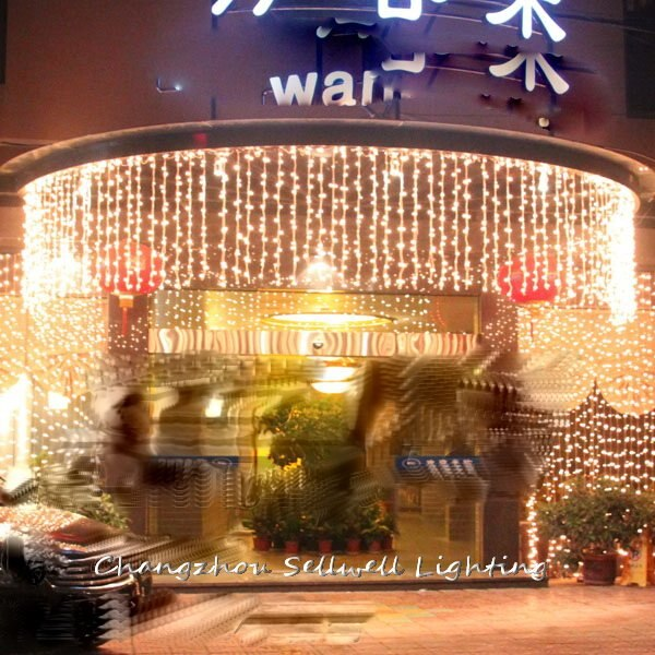 2020 Special Offer Christmas Decorations Christmas Tree Great!festival Lighting Yard Hotel Decoration 1*6m Warm Led Light H060 2018 special offer time limited christmas tree new led christmas lighting yard decoration 1 6m led backdrop lamp h199
