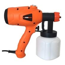 ZHUI TU Electric Spray Gun 350W 600W 220V High Power Home Electric Paint Sprayer 3 Nozzle Handheld Adjustable Paint Spray Gun