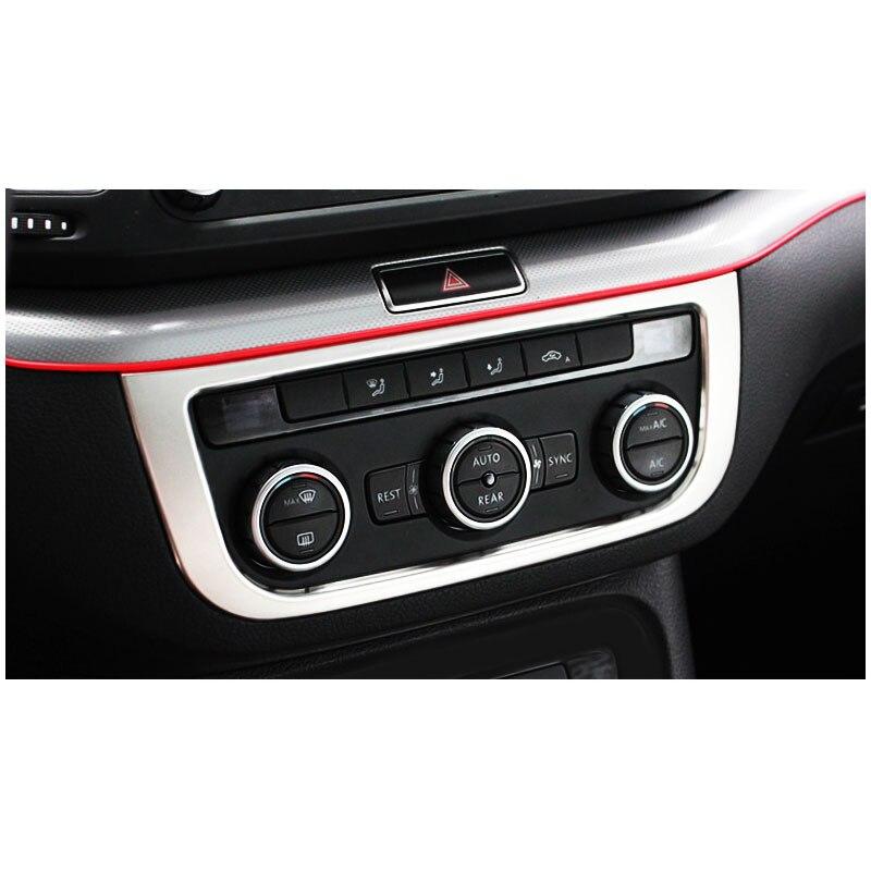 lsrtw2017 car air conditioner panel trim for volkswagen vw sharan 2011 2012 2013 2014 2015 2016 2017 2018 seat Alhambra