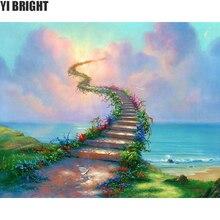 5d diy Алмазная вышивка небеса лестницы Алмазная картина вышивка крестиком полная дрель горный хрусталь мозаика украшение дома