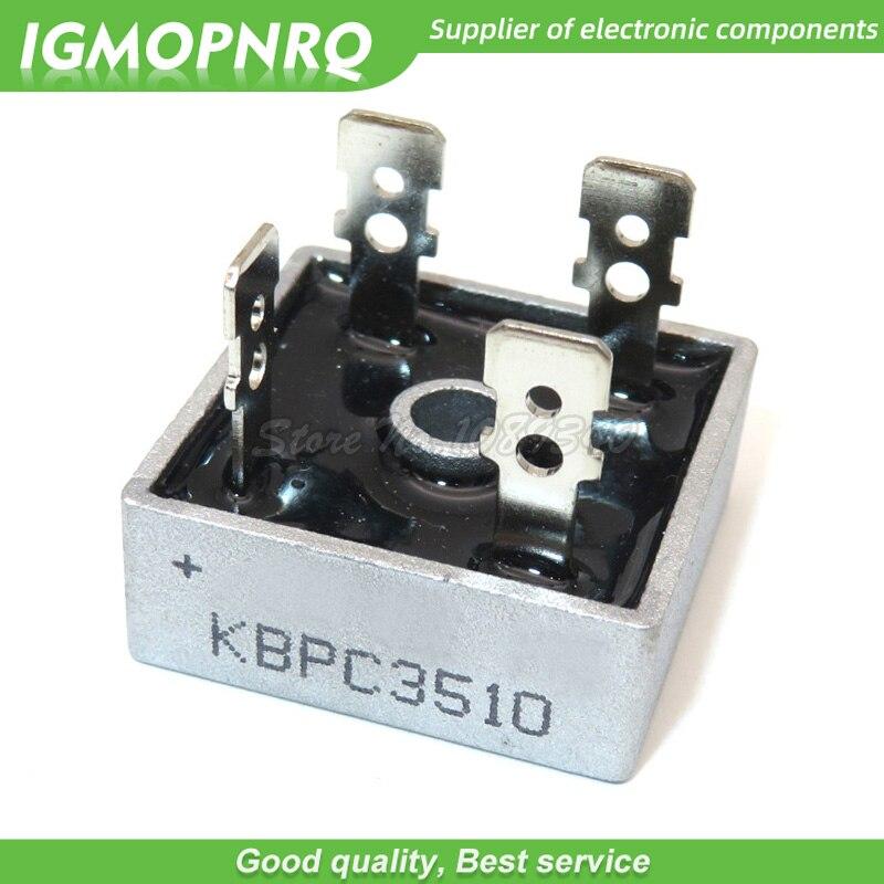 2 pces kbpc3510 35a 1000 v ponte retificador igmopnrq