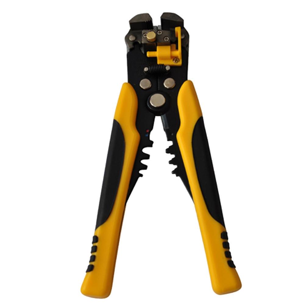 HS-D1 AWG24-10 (0,2-6.0mm2) diseño multifuncional automático Pelacables Cable de alambre de corte prensa de corte de herramientas