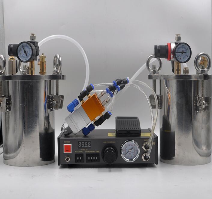 موزع الغراء AB خلط القبب السائل ماكينة توزيع الصمغ لمعدات راتنجات الايبوكسي