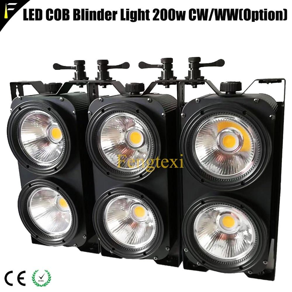 مصباح LED مضاد للماء COB ، 200 واط ، 3200 كيلو ، 5600 كيلو ، 3 قطع ، لون دافئ/بارد قابل للتعديل