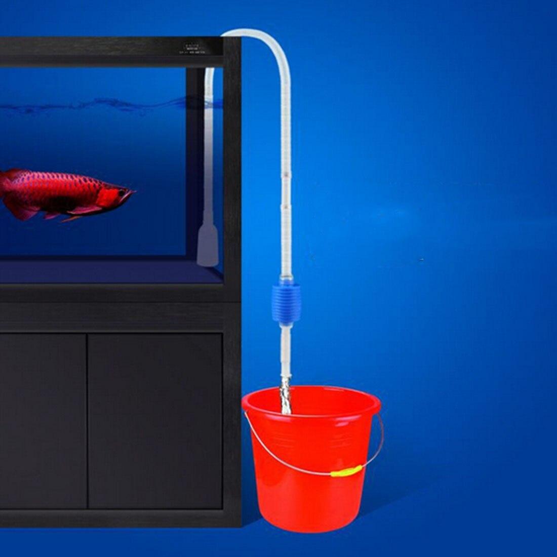 Инструмент для очистки аквариума Aquario, Электрический фильтр для очистки гравия, сифон, вакуумный насос для мытья воды, аксессуары для аквариума