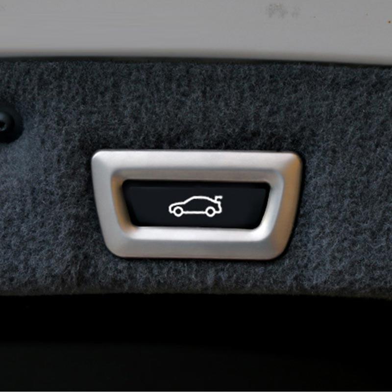 Хромированная наклейка на заднюю дверь и кнопки для BMW X1 f48 X3 f25 X4 f26 X5 f15 X6 3 серии f30 F34 F36 F10 G30, автомобильные аксессуары
