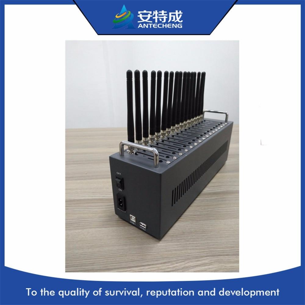 16 портов WAVECOM Q24plus USB gsm модем для оптовой отправки sms