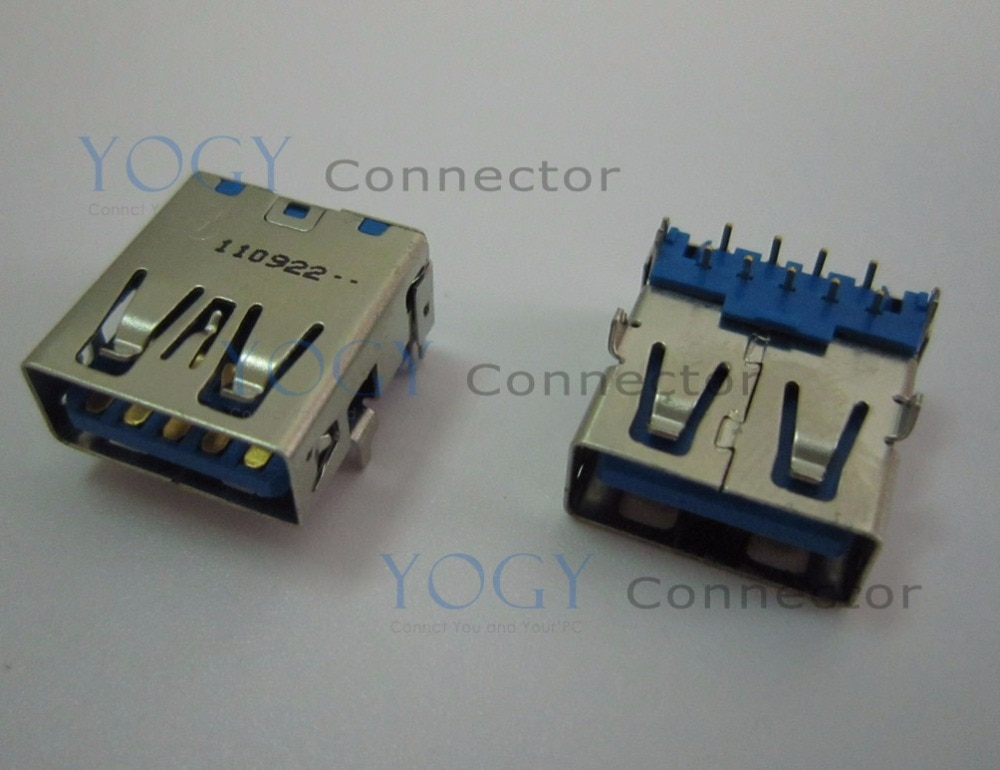 1 piezas USB3.0 hembra conector apto para asus g55v Serie usb board