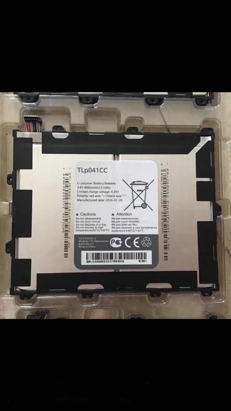 3,8 V 4060mAh TLp041C2/TLp041CC para Alcatel OneTouch POP 8 P320A batería