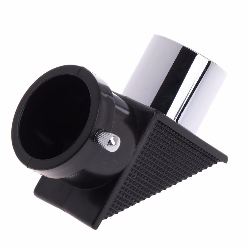 1,25 90 grados espejo cenital telescopio Monocular Diagonal espejo para la astronomía nuevo