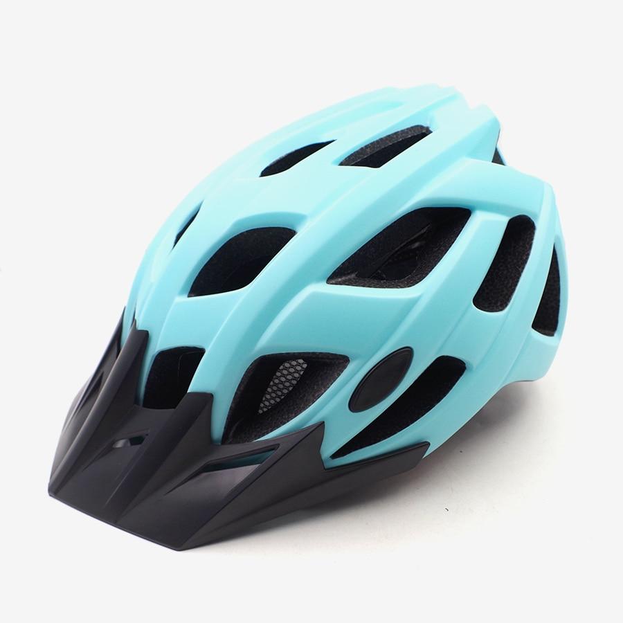 Casco con visera para hombre y mujer, casco para bicicleta de montaña...