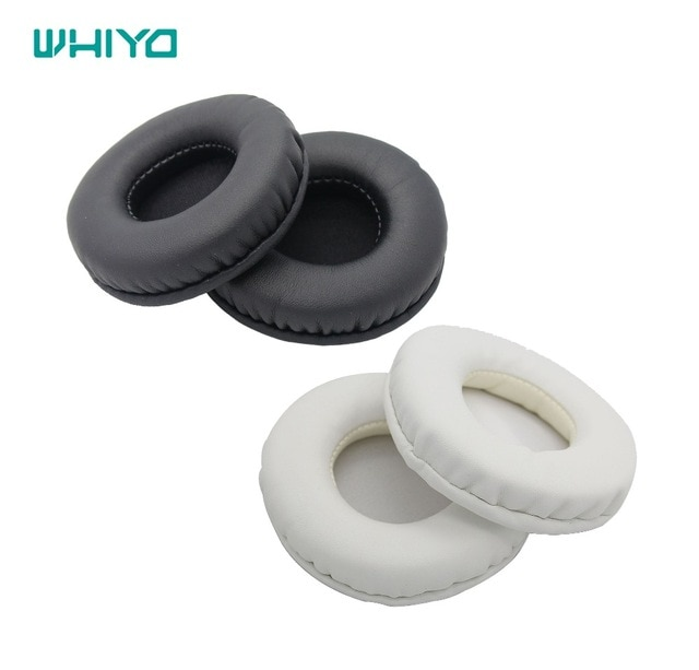 Whiyo Protein Leather Replacement Ear Pads Cushion for ATH-FC700 ATH-FC707 ATH-SJ1 ATH-SJ11 ATH-200AV Headphones