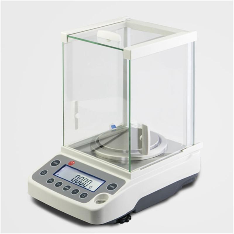120g/0.0001g مختبر LCD الميزان التحليلي الرقمية الدقة مقياس عالية الدقة مختبر التحليلية التوازن مقياس 100-240V 0.1mg
