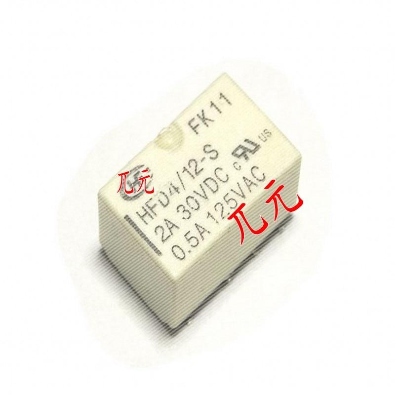 10PCS  HFD4 HFD4-3-S HFD4/5-S HFD4-12-S HFD4-24-S HFD4-3-SR HFD4/5-SR HFD4-12-SR HFD4-24-SR SMT Subminiature Signal Relay