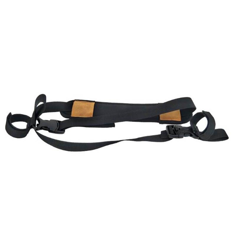 Arquería compuesto arco portador Sling hombro Correa pistolera cinturón soporte Quick Case caza