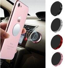 Mini Support de téléphone magnétique pour voiture universel mur bureau métal aimant autocollant Support Mobile Support pour téléphone Support de voiture