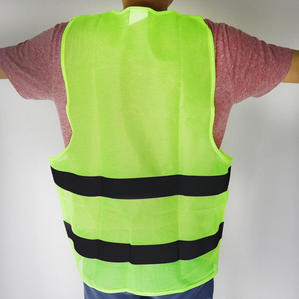 Chaleco de moto de alta visibilidad chaleco reflectante de seguridad chaleco Hi Viz chaleco advertencia chaqueta de rayas reflectantes