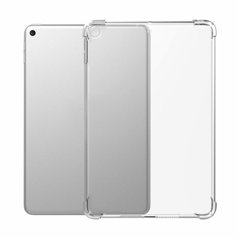 New Hot Sale Silicon Case Clear Transparent Case Soft TPU Bumper Cover Tablet Case Accessories For I