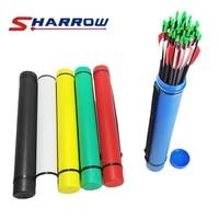 sharrow classic leather grain retractable arrow six color optional adult youth shooting hunting bamboo arrow carbon arrow