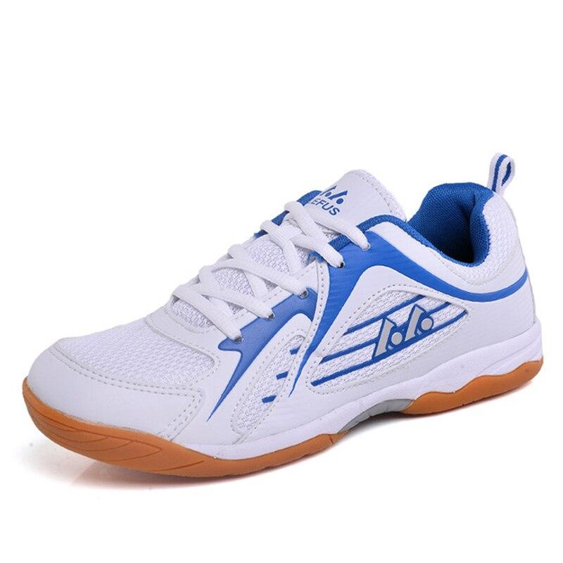 Zapatos de voleibol genuinos para hombres, zapatillas de deportes de interior, zapatos de bádminton Acolchados transpirables, zapatillas antideslizantes para hombres D0597