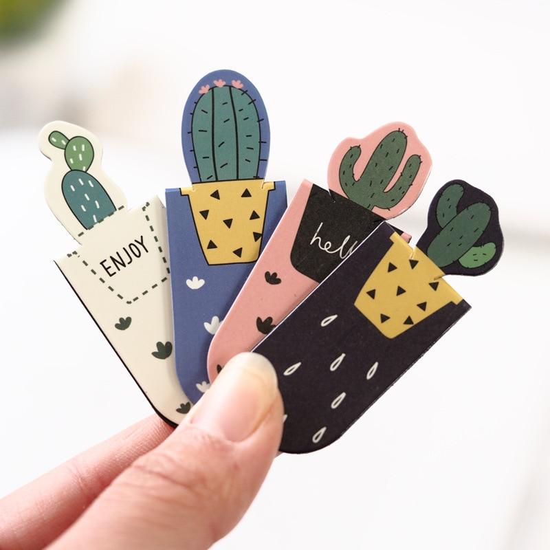 1-set-cactus-fresco-sakura-unicorno-segnalibri-magnetici-libri-marcatore-di-pagina-studente-di-cancelleria-scuola-di-forniture-per-ufficio
