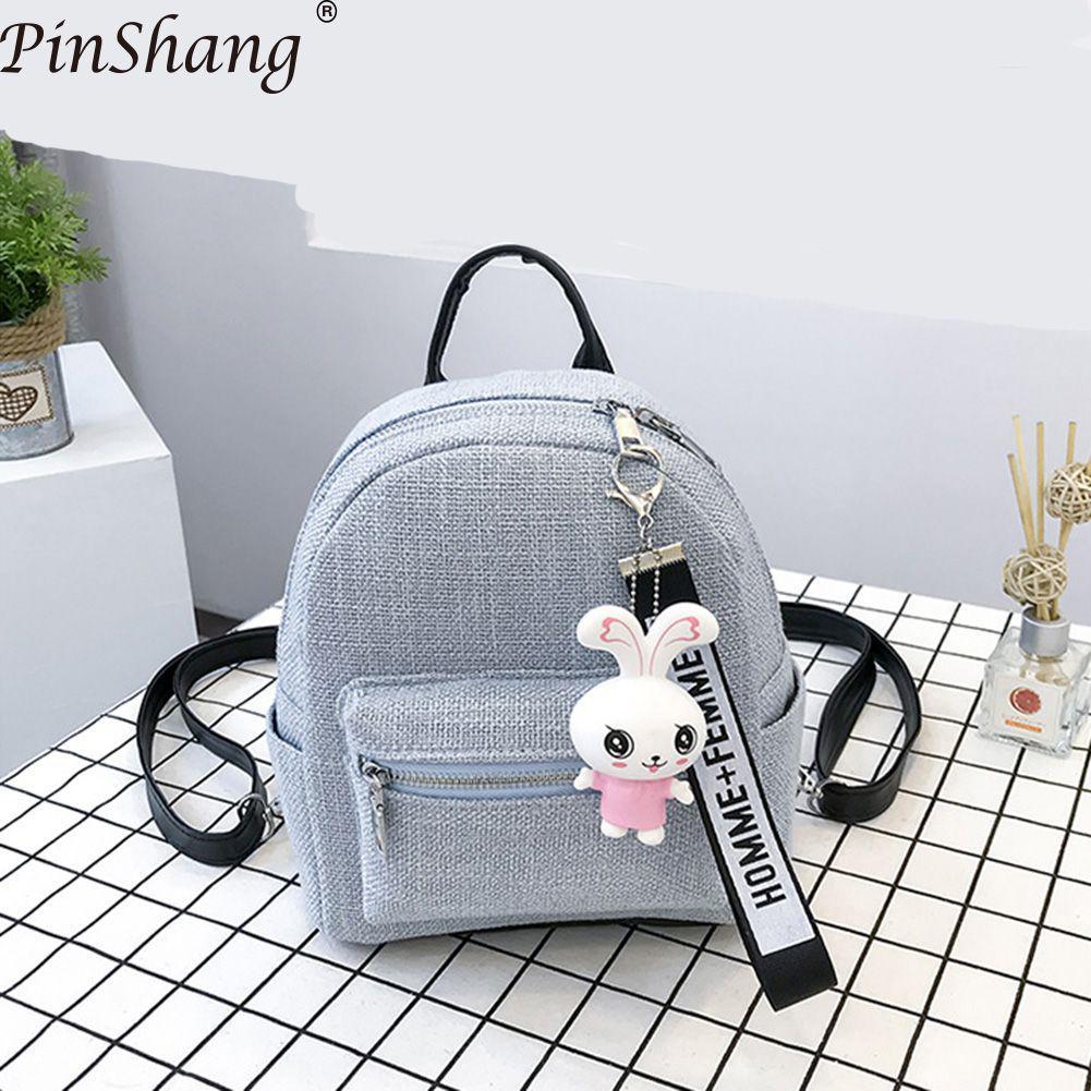 Mochila PinShang Mini PU, Mochila elegante para mujer, bolso de hombro para mujer, Mochila de regalo para mujer, Mochila ZK30