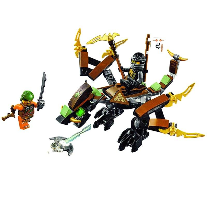 BELA Voando Dragão Da Terra das Piratas Kou Modelo Montagem Brinquedo de Blocos de Construção Tijolos Brinquedos CompatibleBlocks 70599 Presentes Brinquedos
