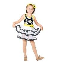 Ballet Dance Skirt Costume children's Flower Pettiskirt Skirt Dress Costume Stage Costume