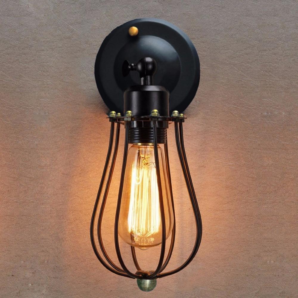 Lámpara de pared vintage Retro, lámpara de pared, iluminación para el hogar,...