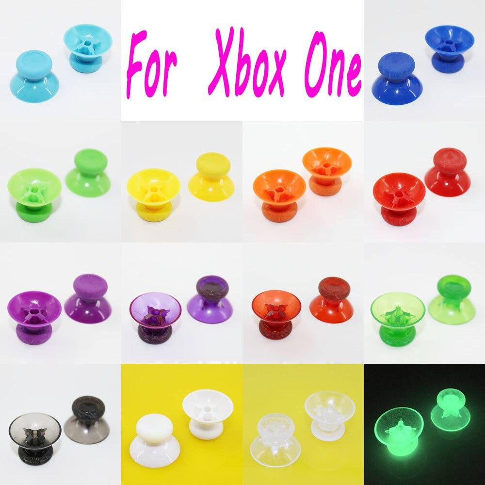 100 piezas mezclan 14 colores de alta calidad 3d Módulo de palo analógico para Microsoft XBOX ONE 1 controlador de tapa de joystick analógica