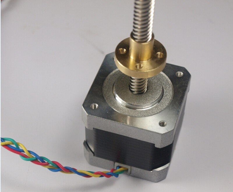UM2 Go-master 180 مللي متر Z-Motor مع رباعي الرصاص برغي 8*8(P2) لتقوم بها بنفسك ultmaker 2 GO طابعة ثلاثية الأبعاد السائر mot