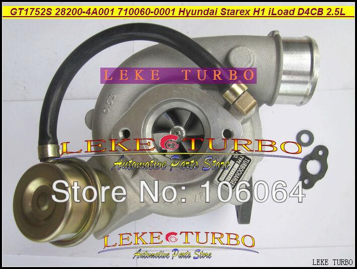 GT1752S 710060-0001 710060-5001S 28200-4A001 710060 Turbo Turbolader Für Hyundai Starex 2000-H1 H-1 iLoad iMax D4CB 2.5L CRDI
