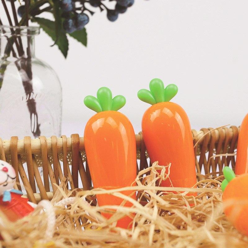 6m Kawaii Linda zanahoria cinta de corrección para Corrector niños regalo novedad artículo creativo papelería oficina escuela suministros